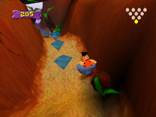 Flintstones, The - Bedrock Bowling ingame screenshot