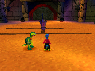Gex 3 - Deep Cover Gecko ingame screenshot