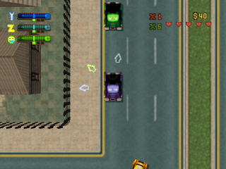 Grand Theft Auto 2 ingame screenshot