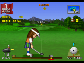 Hot Shots Golf - Everybody's Golf ingame screenshot
