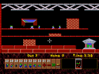 Lemmings & Oh No! More Lemmings  ingame screenshot