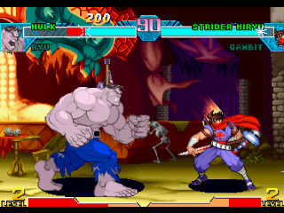 Marvel vs. Capcom - Clash of the Super Heroes ingame screenshot