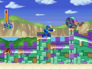 Mega Man 8 ingame screenshot