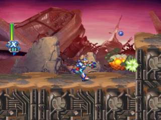 Mega Man X6 ingame screenshot