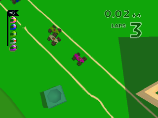 Micro Machines V3 ingame screenshot