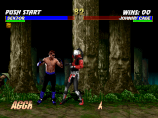 Mortal Kombat Trilogy ingame screenshot