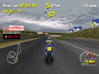 Moto Racer World Tour ingame screenshot