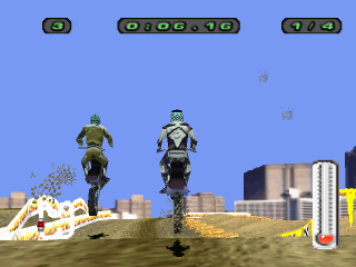 Motocross Mania 2 ingame screenshot