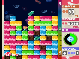 Mr. Driller ingame screenshot