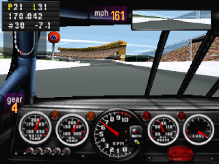 NASCAR Racing ingame screenshot