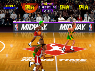 NBA Hangtime ingame screenshot
