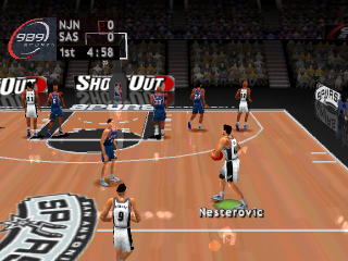 NBA ShootOut 2004 ingame screenshot