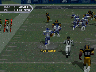 NFL Quarterback Club 97 ingame screenshot