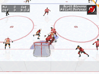 NHL Face Off ingame screenshot