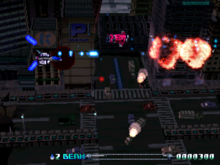 R-Type Delta ingame screenshot