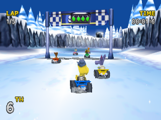 Rascal Racers ingame screenshot