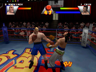 Ready 2 Rumble Boxing ingame screenshot