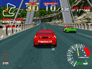 Ridge Racer ingame screenshot