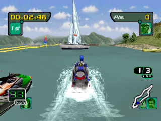 Sea-Doo Hydro Cross ingame screenshot