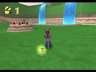 Spyro the Dragon ingame screenshot