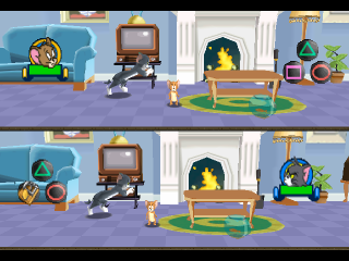 Tom and Jerry in House Trap ingame screenshot