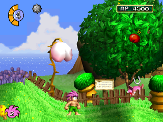 Tomba ! ingame screenshot