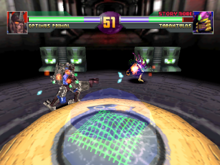 Transformers - Beast Wars Transmetals ingame screenshot