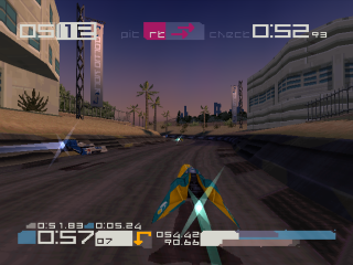 WipEout 3 ingame screenshot