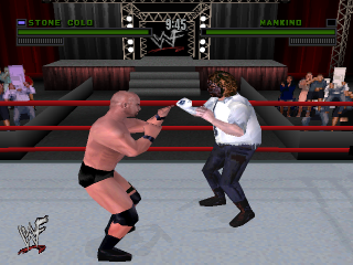 WWF Attitude ingame screenshot