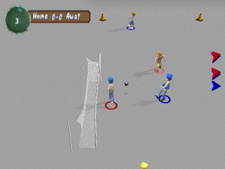 XS Junior League Soccer ingame screenshot