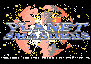 Planet Smashers title screenshot