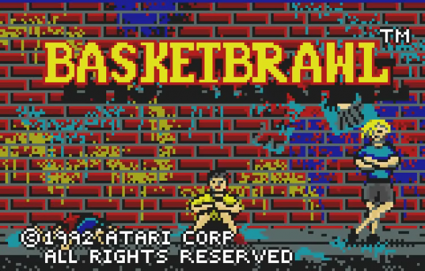 Basketbrawl title screenshot