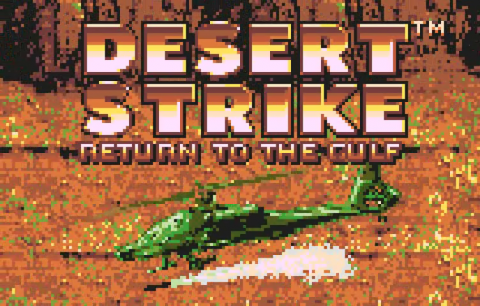 Desert Strike - Return to the Gulf title screenshot