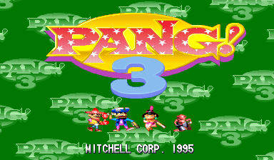 Pang ! 3 title screenshot