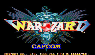 Warzard - Red Earth title screenshot