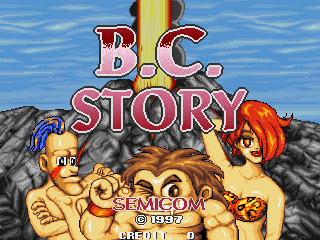 B.C. Story title screenshot