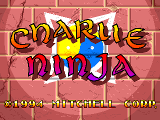 Charlie Ninja title screenshot