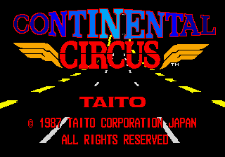 Continental Circus title screenshot