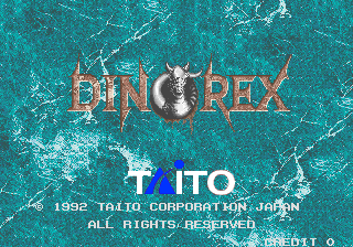 Dino Rex title screenshot