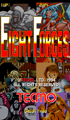 Eight Forces title screenshot