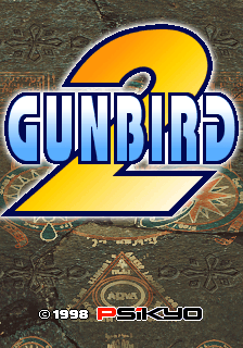 Gunbird 2 title screenshot