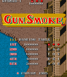 Gun.Smoke title screenshot