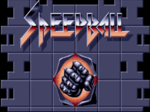 Speedball title screenshot