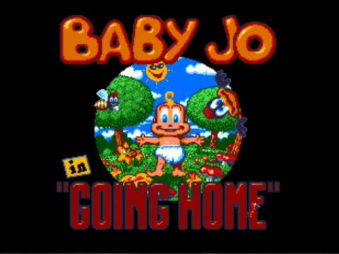 Baby Jo - The Super Hero title screenshot