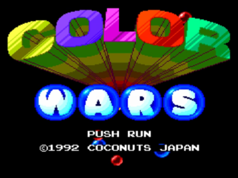 Color Wars title screenshot
