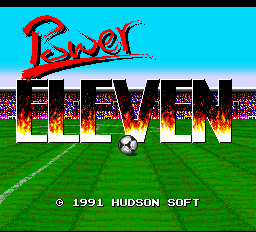Power Eleven title screenshot