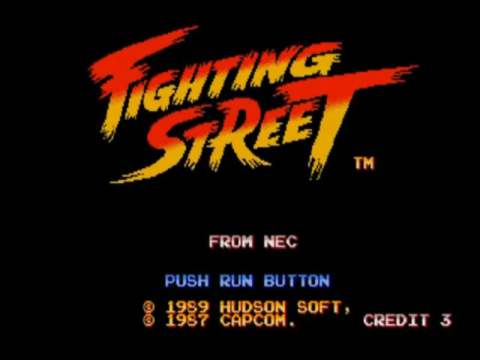 Fighting Street title screenshot