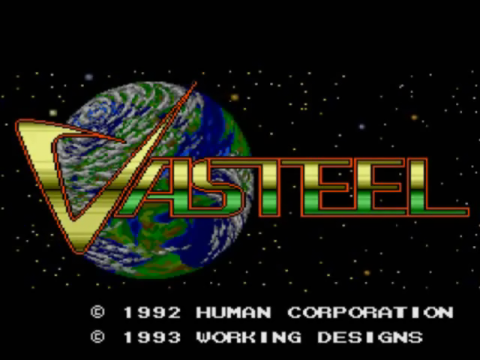Vasteel title screenshot