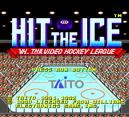 Hit the Ice - VHL the Official Video Hockey League title screenshot