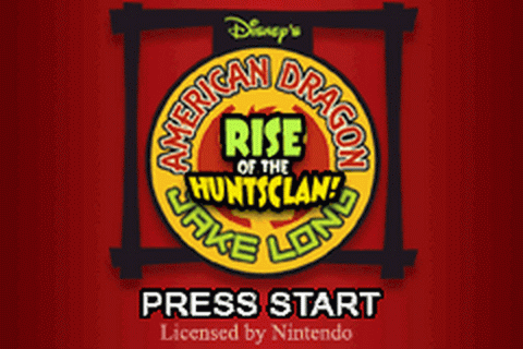 American Dragon - Jake Long - Rise of the Huntsclan title screenshot